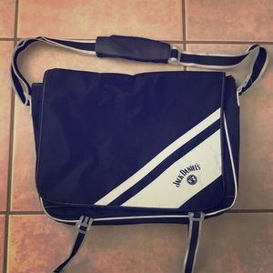 Jack Danile's Whiskey Branded Messenger Bag for sale